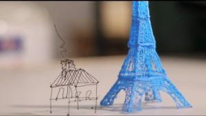 Conheça a 1ª caneta que escreve e desenha em 3D - Fotos e Vídeo