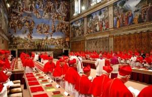 Capela Sistina é fechada e preparada para o conclave