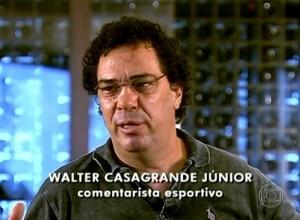 Walter Casagrande fala sobre seu vício das drogas no Fantástico