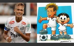 Neymar vira personagem de Mauricio de Sousa - Veja