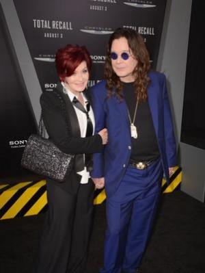 Ozzy e Sharon Osbourne separados