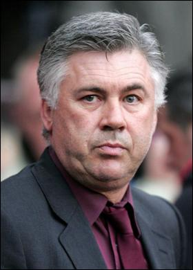 Carlo Ancelotti é novo treinador do Real Madrid