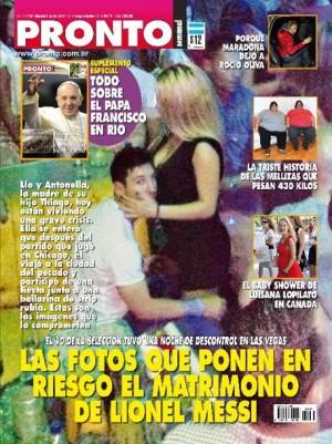 Leo Messi em noitada com stripper - Fotos