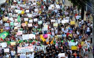 Protestos causam queda no varejo
