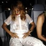 Rihanna cai na noite sem sutiã-2