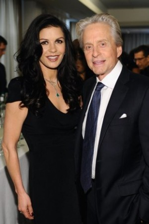 Michael Douglas e Catherine Zeta-Jones separados