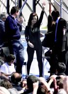 Cristina Fenandez usa legging preta e vira tema de discussão - Fotos