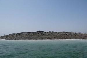 Tremor no Paquistão dá origem a ilha - Veja Fotos