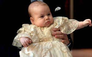 Príncipe William e Kate batizam novo príncipe George - Fotos