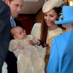 Príncipe William e Kate batizam novo príncipe George-4