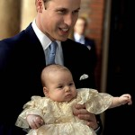 Príncipe William e Kate batizam novo príncipe George-6
